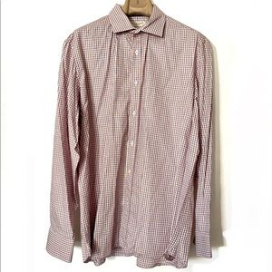 EUC Burberry Shirt, Cotton, Size 17.5 44